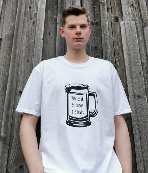 """Vīriešu T-krekls """"Alus kauss"""""""