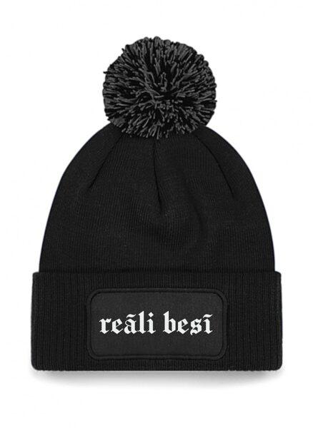"""Ziemas cepure """"Reāli besī"""""""